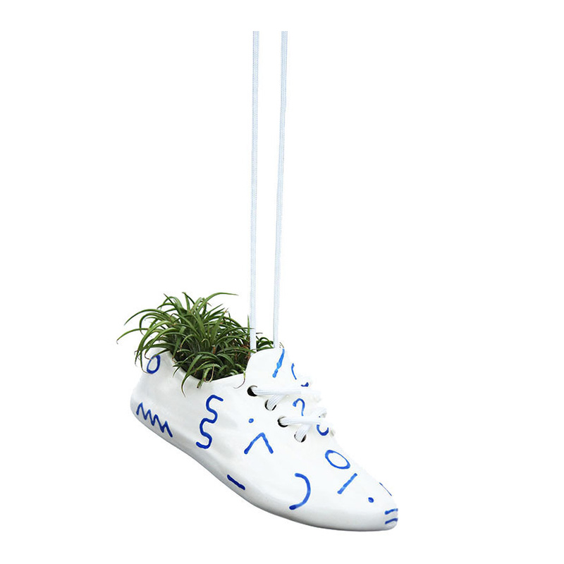 Cache-pot Chaussure, Wyatt Little — Bleu Roi, Ponio