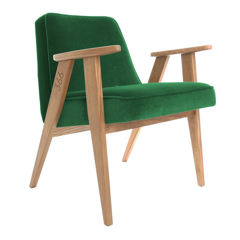 Fauteuil, 366 Concept — Vert Emeraude, Ponio