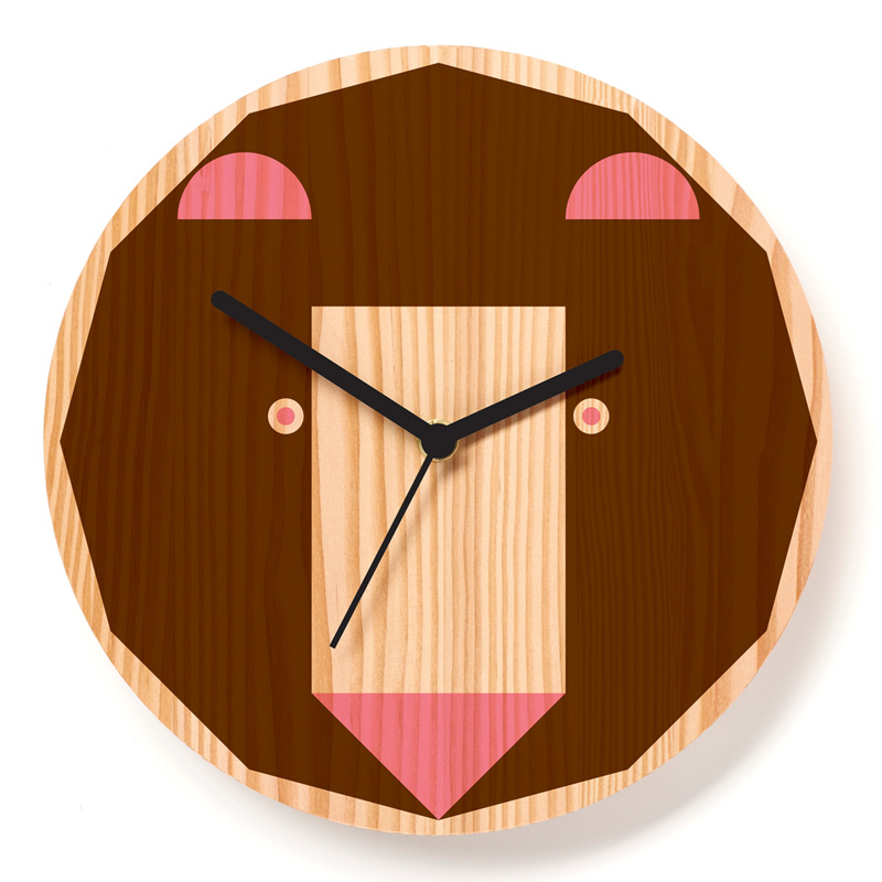 Horloge, Paul Farrell — Marron Noisette, Ponio
