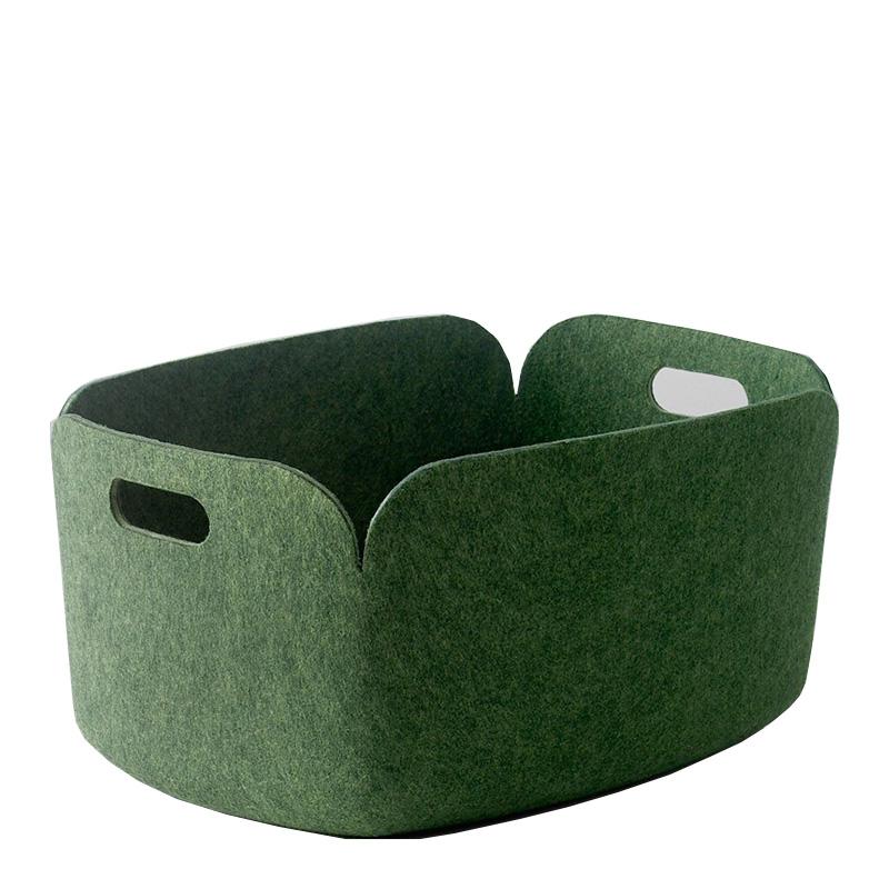 Panier de Rangement, Muuto — Vert Emeraude, Ponio
