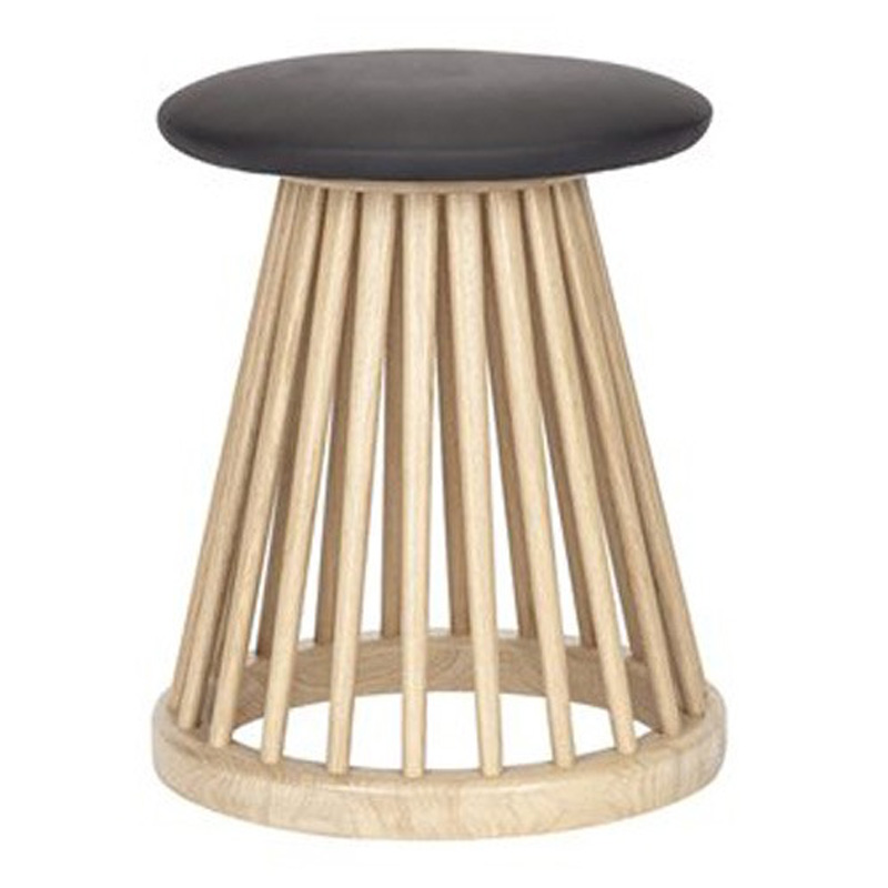 Tabouret, Tom Dixon — Marron Noisette, Ponio