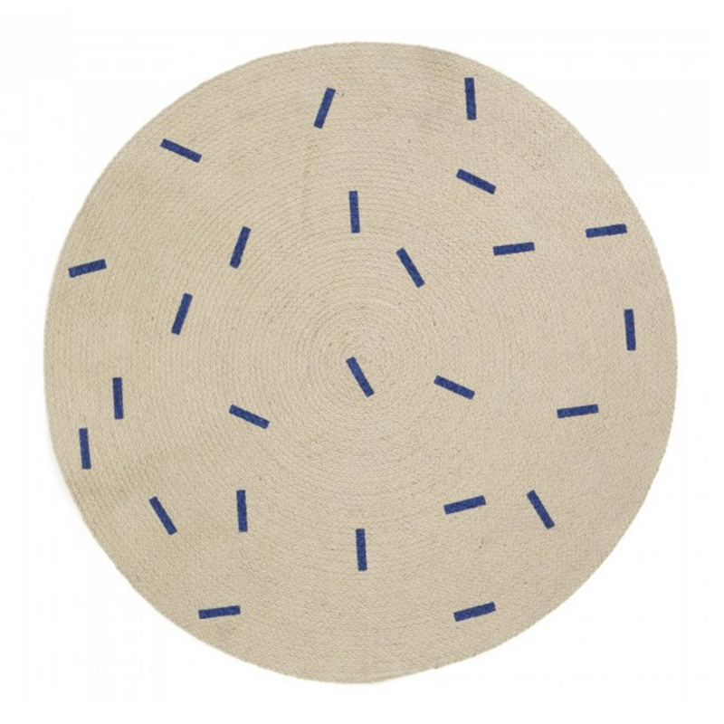 Tapis, Ferm Living — Naturel, Ponio