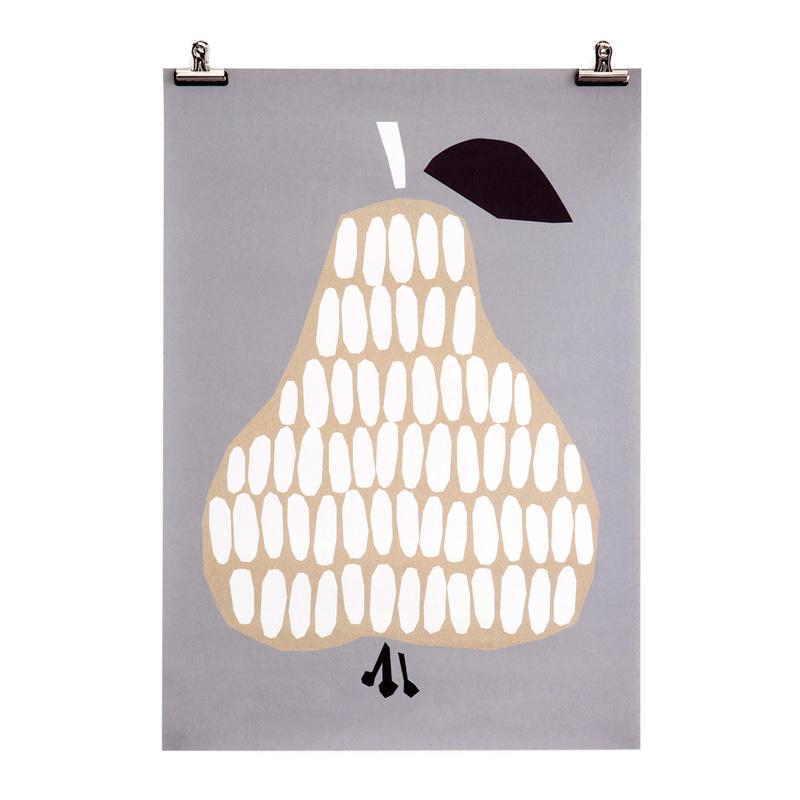 Affiche, Darling Clementine — Gris Souris, Ponio