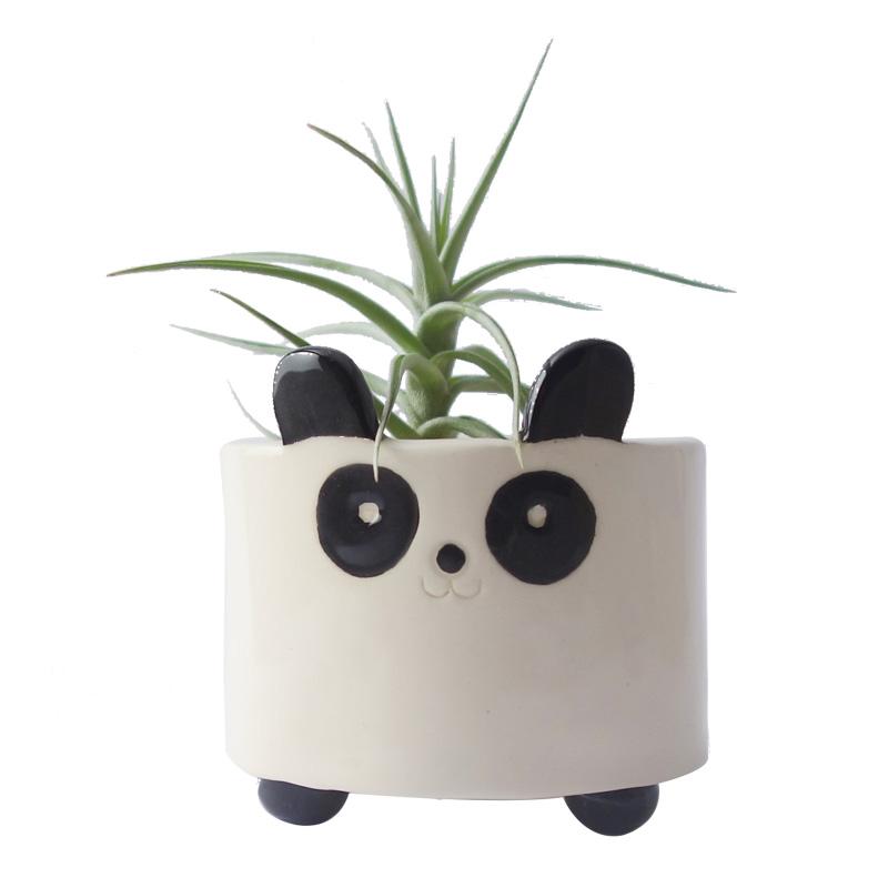 Cache-pot, Minky Moo Ceramics — Noir Réglisse, Ponio