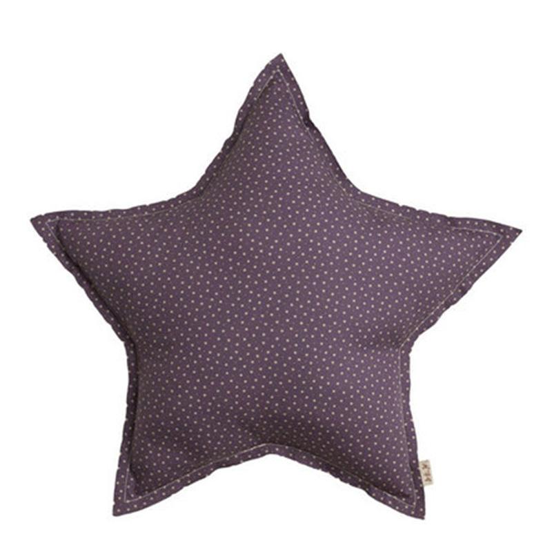 Coussin étoile, Numéro 74 — Prune, Ponio