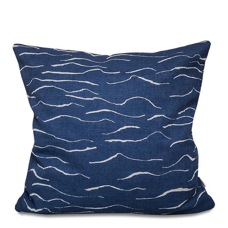 Coussin, Fine Little Day — Bleu Nuit, Ponio