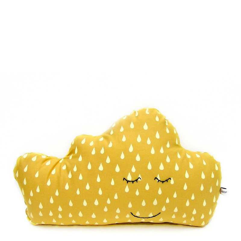 Coussin, Normadot — Jaune Moutarde, Ponio
