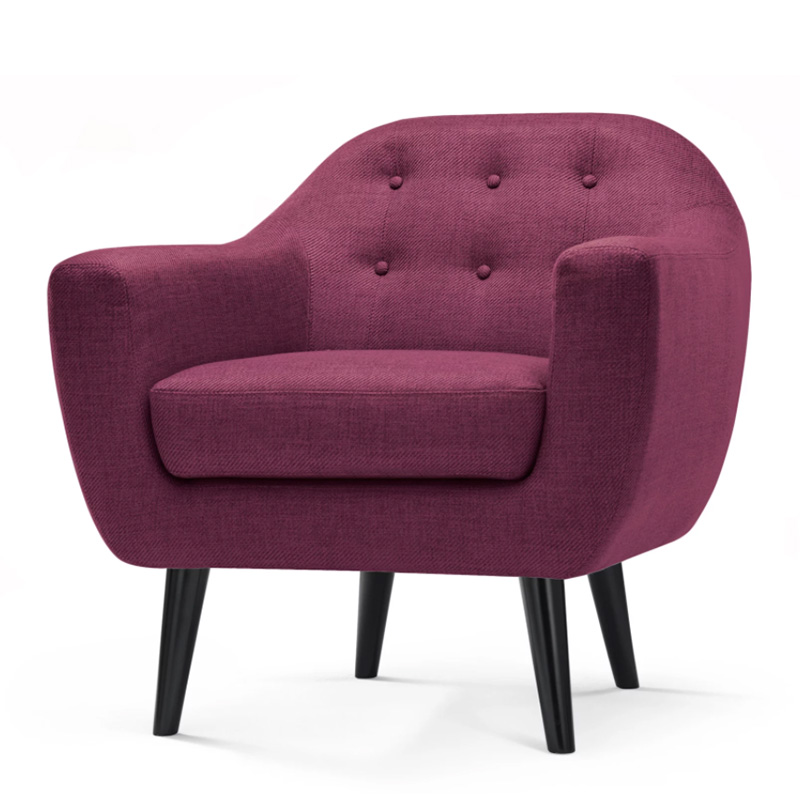 Fauteuil, Made — Prune, Ponio