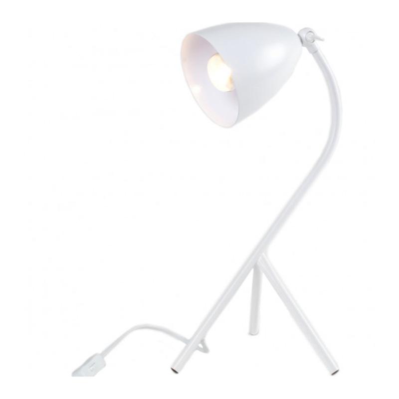 Lampe à poser, Lignes Droites — Blanc Neige, Ponio