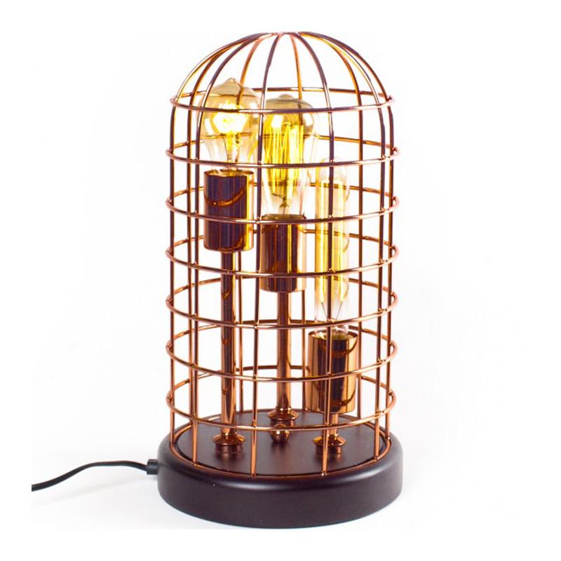 Lampe à poser, Lignes Droites — Cuivre, Ponio