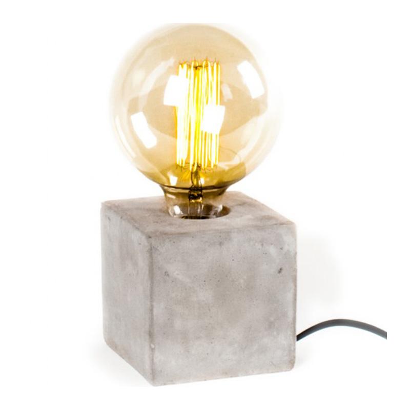 Lampe à poser, Lignes Droites — Gris Souris, Ponio