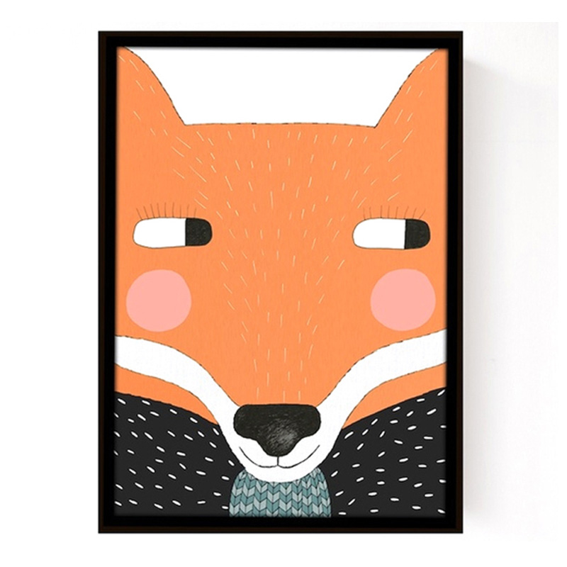 Affiche Renard, Seventy Tree — Orange Citrouille, Ponio