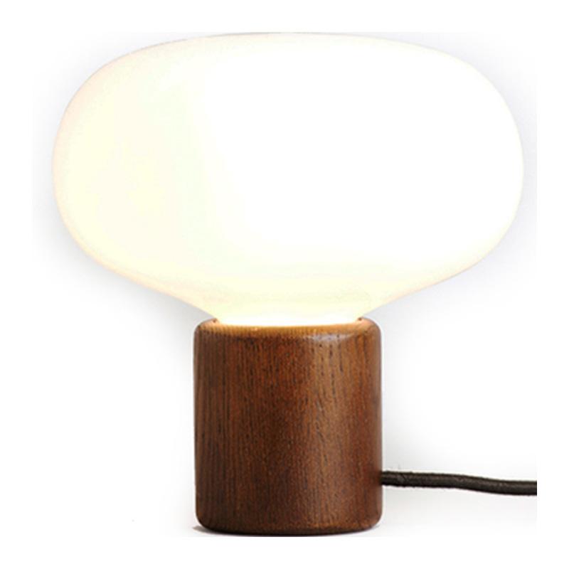 Lampe à Poser, New Works — Bois Foncé, Ponio
