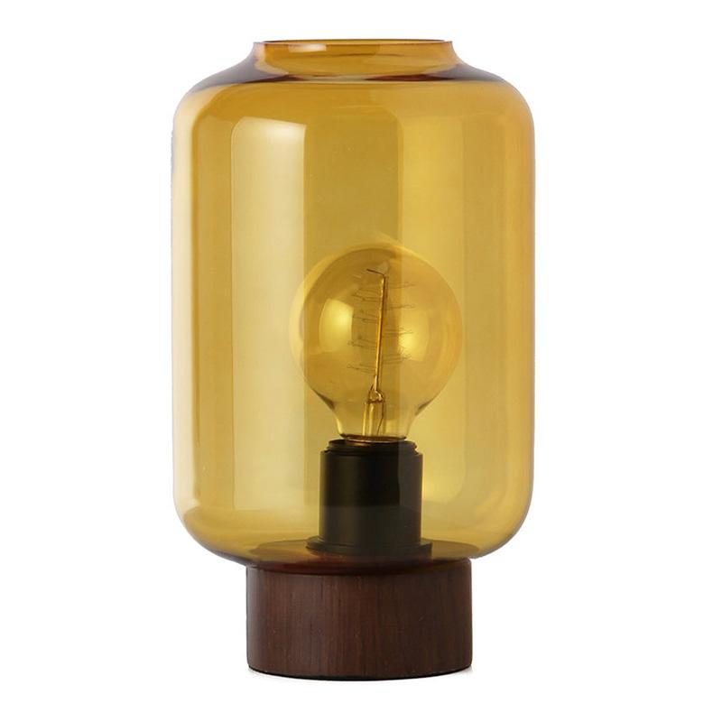 Lampe de Table, Frandsen — Bois Foncé, Ponio