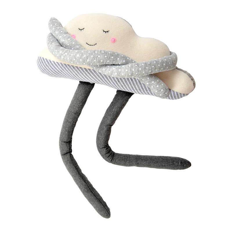 Doudou nuage, Smallable Toys — Gris Perle, Ponio