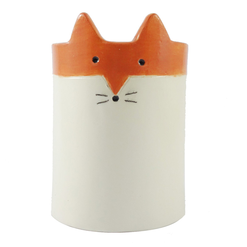 Pot Renard, Minky Moo Ceramics — Orange Citrouille, Ponio