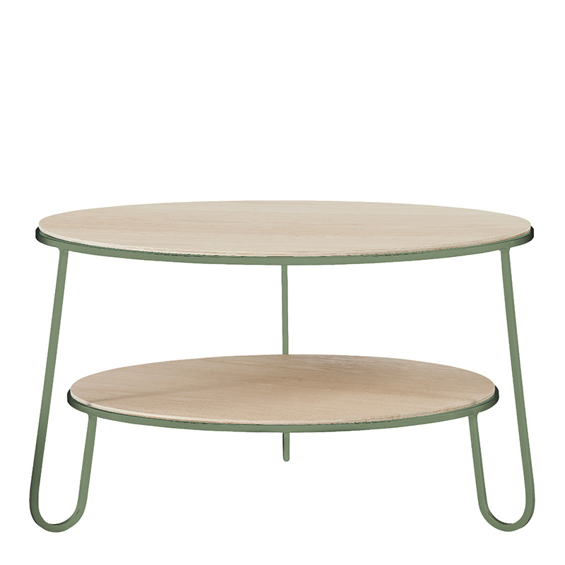 Table basse, Hartô — Vert Amande, Ponio