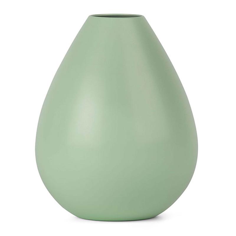 Vase, Design Letters — Vert Amande, Ponio