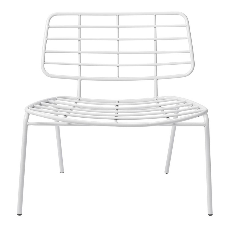 Chaise, Bloomingville — Blanc Neige, Ponio
