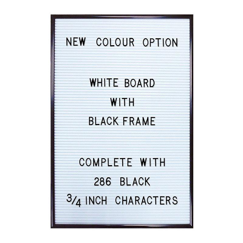 White Letter Board, Magpie — Blanc Neige, Ponio