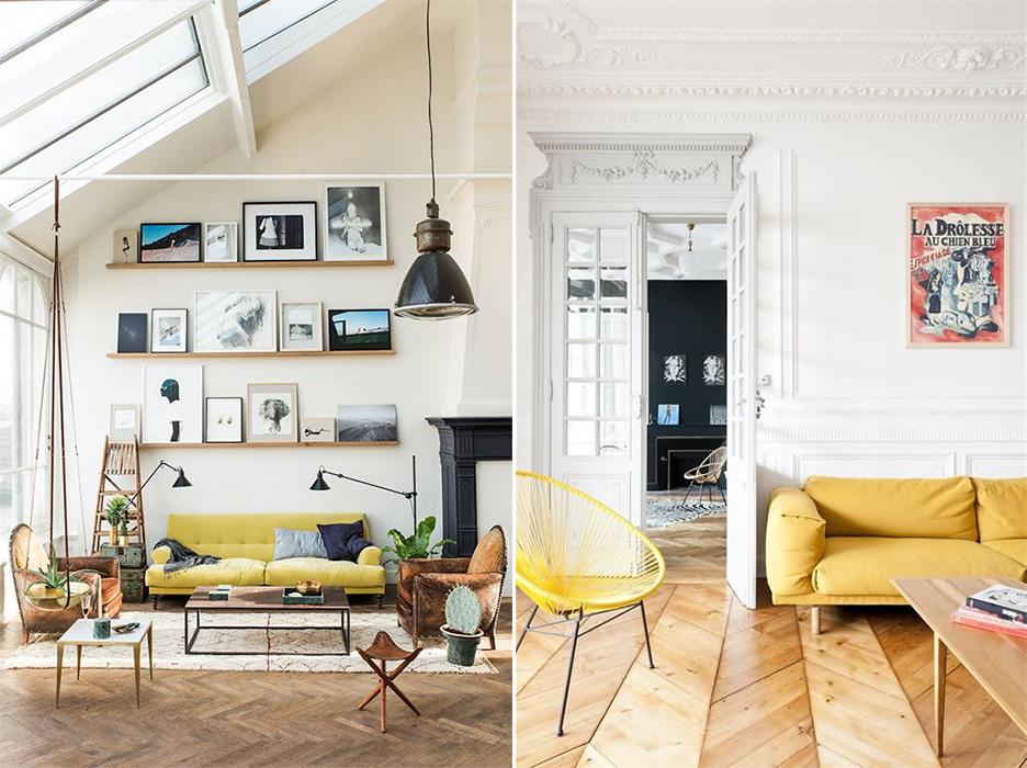 Du jaune citron pour illuminer son intérieur | Ponio