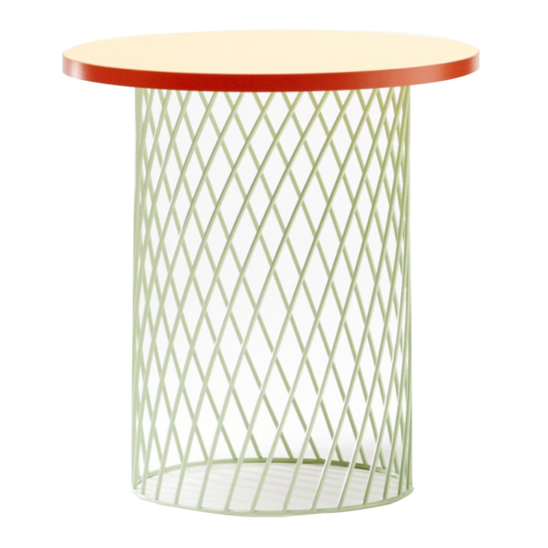 Table Basse, Colonel — Orange Corail, Ponio