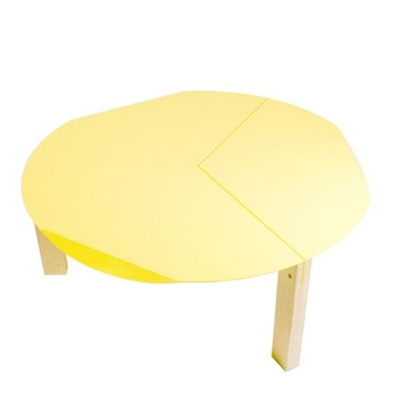 Table Basse, Entreautre — Jaune Citron, Ponio