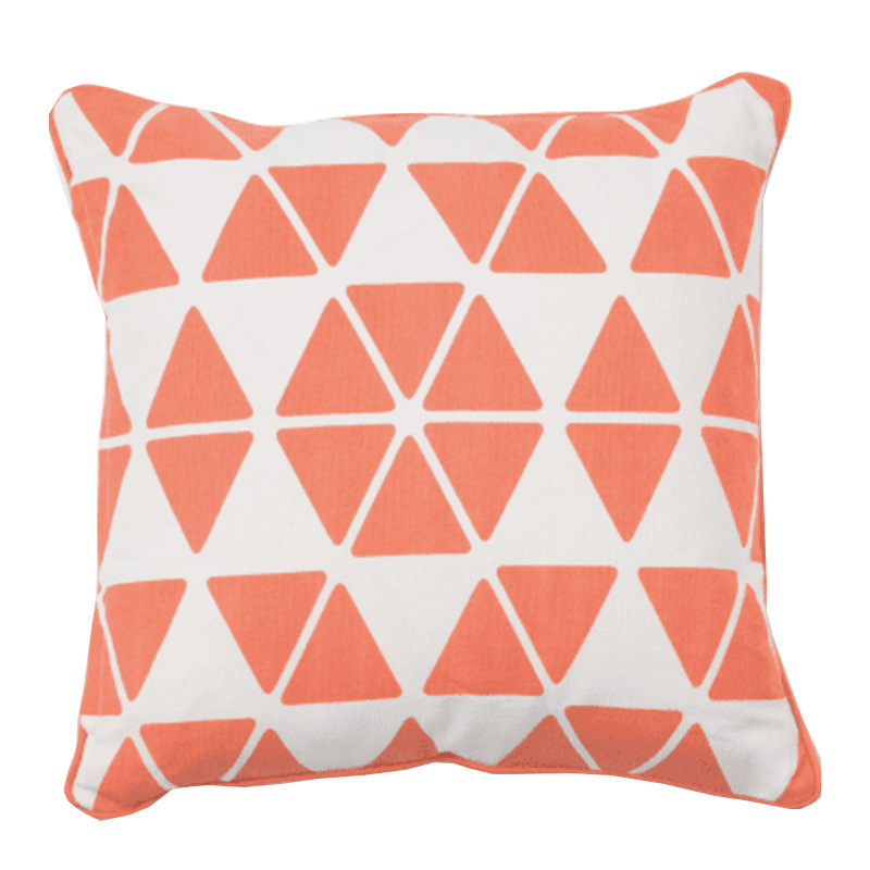 Coussin, Made — Orange Corail, Ponio