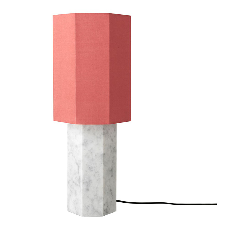 Lampe de table, Louise Rose — Orange Corail, Ponio