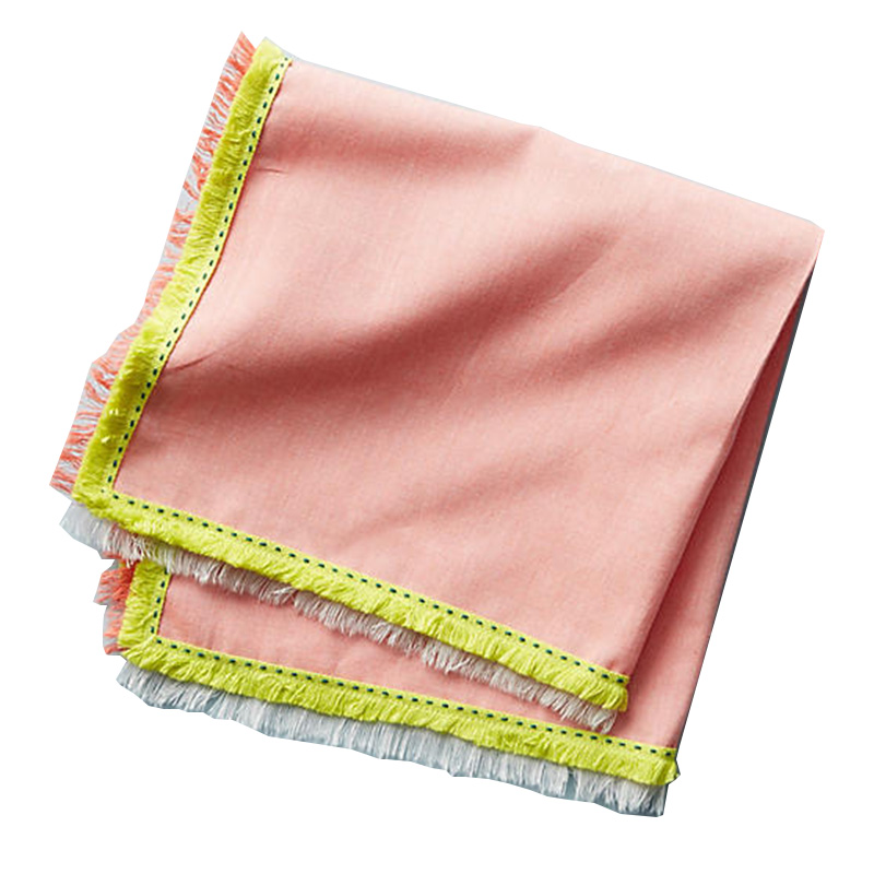 Serviette, Anthropologie — Orange Corail, Ponio